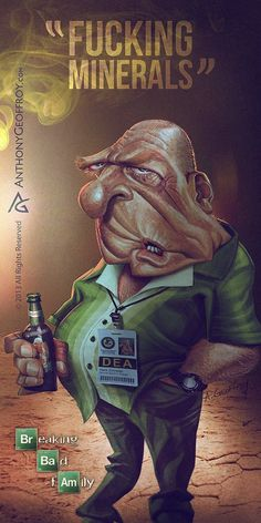 Breaking Bad by Anthony Geoffroy (France)