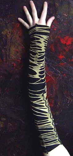WD mummyskin sleeves by wearydrearies.deviantart.com on @DeviantArt