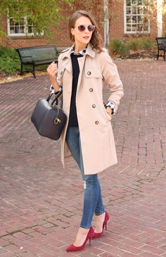 Gingham Touch Winter Outfit