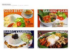 hangging banner foodmania makanan indonesia preview 3
