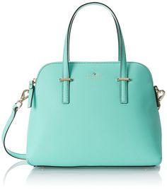 kate spade new york Cedar Street Maise Top Handle Bag, Soft Rosette/Black, One Size