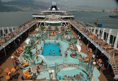 Onboard #MSC_Magnifica on a cruise in the eastern Mediterranean. Photo: bestnorwegian.com