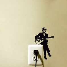 Light Switch Velvet Sticker - Trumpet from mirshka studio | My