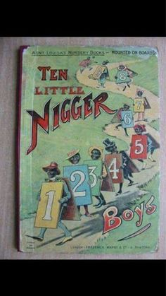 Book used in education of young African American children in the past, United States.