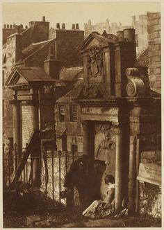 The Covenanter's Tomb, Greyfriars Churchyard, 1846  David Octavius Hill and Robert Adamson