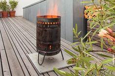 ZÜNDELN ERLAUBT // In kühlen Nächten bringen wir das Feuer mit der unverwüstlichen Feuertonne ZORA von Magazin zum Glühen. Yee-haw! // Designtanke.com