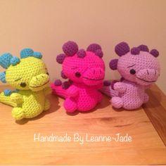 Handmade Crochet Dinosaurs for sale!!
