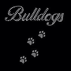 A personal favorite from my Etsy shop https://www.etsy.com/listing/262252408/bulldog-rhinestone-shirt-rhinestone