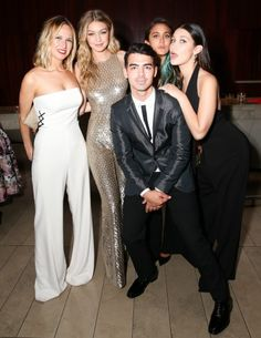 Misha Nonoo, Gigi Hadid, Joe Jonas and Bella Hadid | Inside the 2015 CFDA Fashion Awards