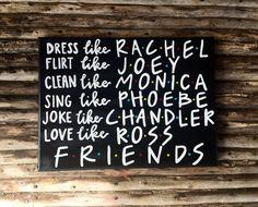 Friends TV show canvas art /rachel/monica/phoebe/joey/chandler/ross