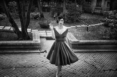 Photographie de mode et portrait noir et blanc #9 by Dana and Stéphane Maitec, via Behance