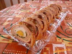 Veľkonočná roláda nielen na Veľkú noc :-) Sprinkles, Sushi, Cooking Recipes, Ethnic Recipes, Basket, Recipes, Sushi Rolls