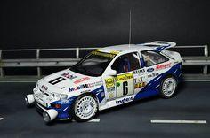 Escort Cosworth, rally, 1/24 scale