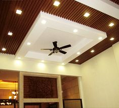 Wooden Ceiling Design, Drawing Room Ceiling Design, Plaster Ceiling Design, Interior Ceiling Design, House Ceiling Design, Ceiling Design Living Room, Ceiling Light Design, Wooden Ceilings, Flat Ceiling Lights