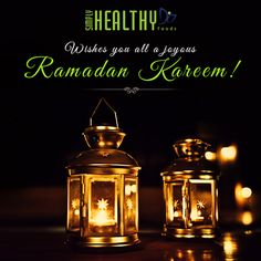 Ramadam Kareem! Wishing you all a joyous Ramadan with happiness, health and success from Simply Healthy Diets!  This Ramadan, get delicious meals made only for you at http://www.simplyhealthydiets.com/