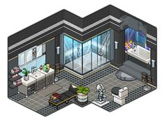 Modern bathroom design by Cutiezor.deviantart.com on @DeviantArt