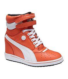 Puma Womens My66 Athletic Wedge Sneakers #Dillards