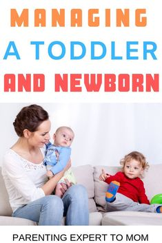 How to Manage a Toddler and a Newborn: Helping Older Siblings Cope with the New Baby Parenting a toddler and newborn is no easy task! Learn simple ways to provide newborn care and keep your toddler busy. Discover how to help your toddler cope with a new Newborn Schedule, Toddler Schedule, Mom Schedule, Training Schedule, Potty Training, Toddler Milestones, New Sibling, Toddler Behavior, Older Siblings