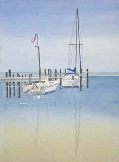 Morning Calm Watercolor Demo