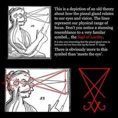 "Sigil of Lucifer sign (Symbol for the spiritual Enlightenment) Lucifer means, literally ""Light Bringer"""