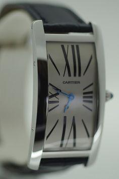Madhvani designed the dial for this Cartier Tank Cintrée