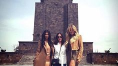 """Kim and Khloe Kardashian are taking Armenia! The reality star sisters are exploring their Armenian heritage by visiting their ancestral country this week. A massive crowd gathered outside the sisters' hotel to welcome them to the country. """"Armenia we are here!!!!!"""" Kim wrote on an Instagram photo of the crowd. """"We are so grateful to be here & start this journey of a lifetime! Thank you to everyone who greeted us! I can't wait to explore our country and have some yummy food!"""" PHOTOS…"""