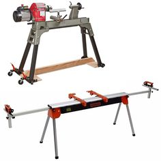 PM-1100 Universal Mobile Base and PM-6500 Miter Saw Stand Woodworking Skills, Woodworking Projects, Miter Saw Reviews, Mitre Saw Stand, Table Saw Jigs, Plywood Panels, Scrap Wood Projects, Moldings And Trim, Power Tools
