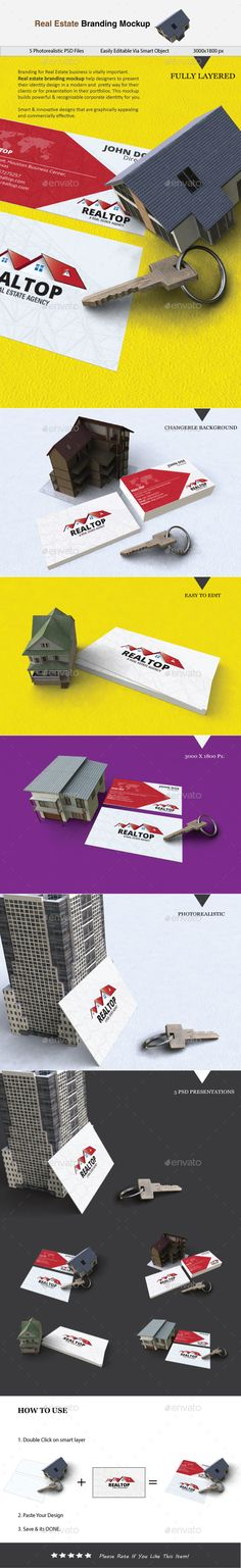 Real Estate Branding Mockup