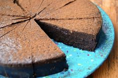 chocolate truffle cake for Passover