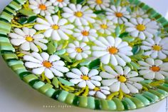 Mosaic Tray, Mosaic Tile Art, Mosaic Pots, Mosaic Crafts, Mosaic Projects, Mosaic Glass, Fused Glass Plates, Fused Glass Art, Glass Dishes