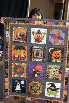 Cute Halloween quilt