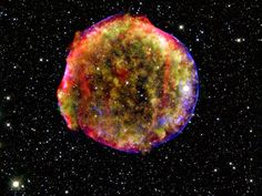 Calar Alto observatory in Spain captured this image of the supernova remnant