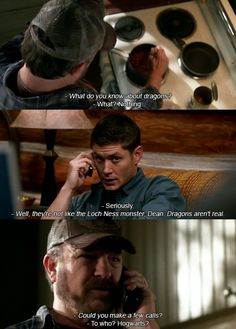 Dean and Bobby
