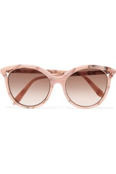 eef2accfb5f24 Victoria Beckham - Cat-eye Acetate Sunglasses - Pink - one size
