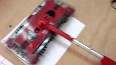 Escoba Barredora Electrica Inhalambrica Swivel Sweeper - YouTube