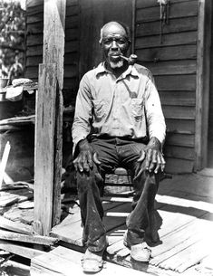 Cudjoe Kazoola Lewis, The last known survivor of the Atlantic slave trade between Africa and North America, Early 1900's