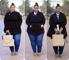 Plus size blog post on plus size coat and plus size Olivia pope coat. Coats are from Forever21 Plus Sizes.