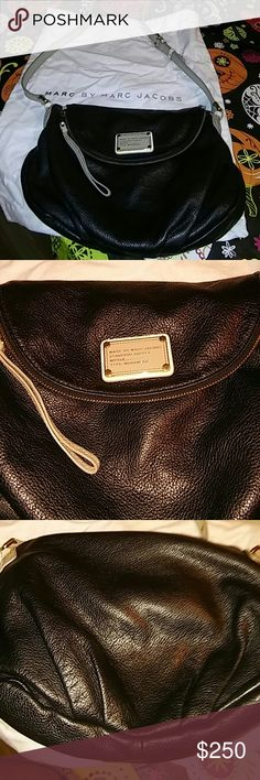Marc Jacobs Leather Shoulder Bag 13x10 Perfect Condition. Like New. No Flaws Marc by Marc Jacobs Bags Shoulder Bags