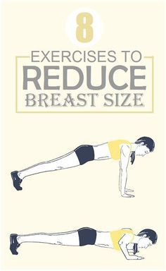 8 Exercises to Reduce Breast Size