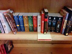 Jesus wept.  #americanhorrorstory #scifi #songoficeandfire #fantasy #bookstore