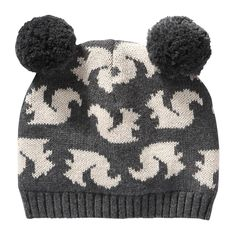 FREE SHIPPING on orders over  50. FREE RETURNS in store. Keep warm with  this hat topped with fun 7c3f2b76b46e