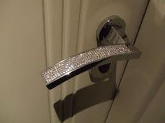 sparkly door handles!