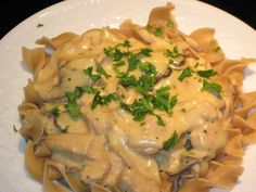 Crockpot comfort, or, slow cooker chicken stroganoff: a recipe - Adventures of the Kitchen Ninja (a Vermont food blog)