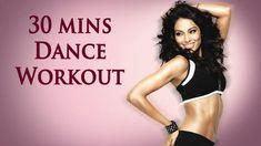 30 Dakikalık Yağ Yaktıran Aerobik Programı - Evde yapabileceğiniz tüm vücudunuz için 30 dakikalık yağ yaktıran aerobik programı (30 Mins Aerobic Dance Workout Bipasha Basu Break Video)