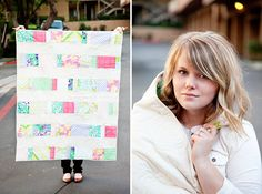 someday i will make a quilt like this...