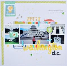 Snippets of Washington D.C. by *paperandglue* at Studio Calico