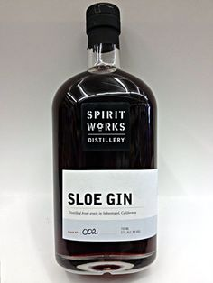 The Spirit Works Sloe Gin recipe has been handed down through the Marshall family for generations: we start with our signature gin, which we macerate with sloe berries until the delicious fruit flavor and color have fully released