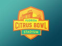 Florida Citrus Bowl Logo - Unused on Behance