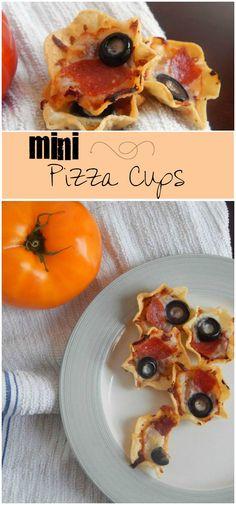 Such a yummy lunch idea! Mini-Pizza Cups rock.