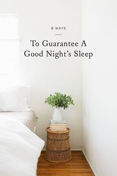 Everyone needs a good night's sleep. How many hours depends on your specific body, but what if it's not co-operating? Not getting enough sleep, or enough deep sleep can wreak havoc on your health and mood.  good night's sleep.
